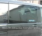 Metris RH sliding-door fixed glass window